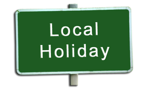 Image result for LOCAL HOLIDAY